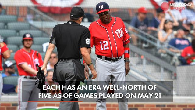 The bullpen for the Washington Nationals has been one of very few issues for the team which is in first place in the NL East.