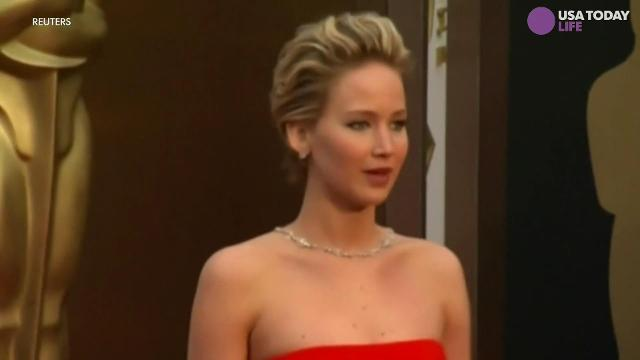 A video of what looks like a drunk Jennifer Lawrence pole dancing  has gone viral.