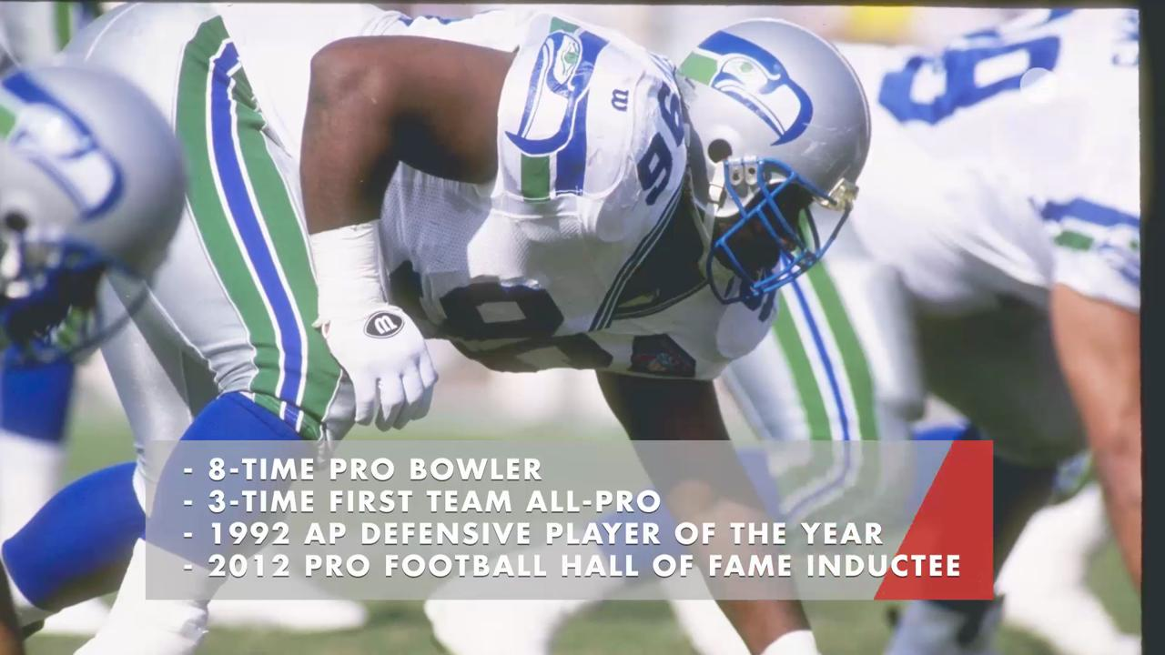NFL Hall of Fame lineman Cortez Kennedy was found dead on Tuesday. He spent his entire career with the Seattle Seahawks.