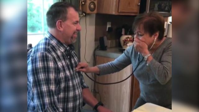 Mom hears son's heartbeat after his death