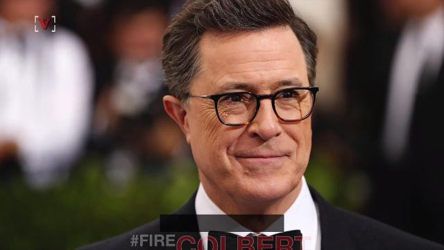 Late night host Stephen Colbert is in hot water after he made a crude joke about President Donald Trump in his opening monologue Monday night. Sean Dowling has the story.