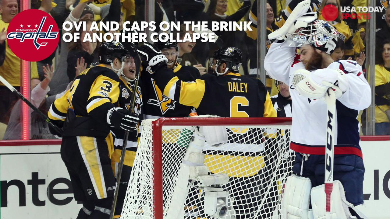 With the Penguins taking a commanding 3-1 lead the Washington Capitals are yet again faced with the possibility of yet another disappointing postseason.