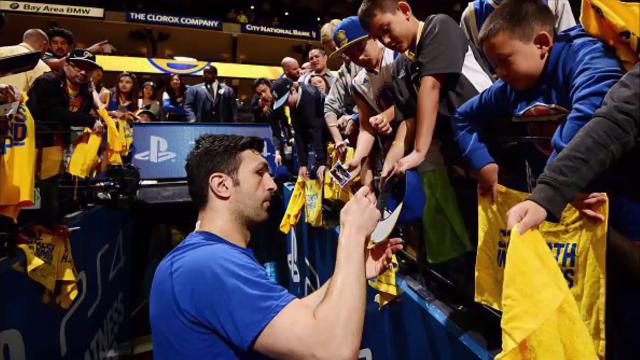 In response to death threats Pachulia has received since the controversial play that injured Spurs' forward Kawhi Leonard, security guards were sent to his children's school as a precaution.