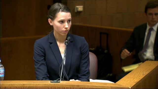 Former gymnast testifies doctor assaulted her