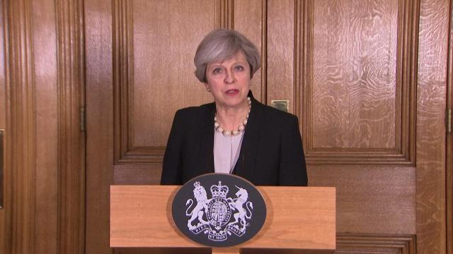 British Prime Minister Theresa May says the U.K. terror threat level is increased from 'severe' to 'critical' following the Manchester bombing.