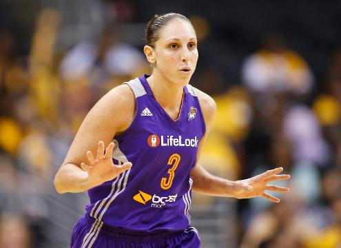 The Mercury's Diana Taurasi married former teammate Penny Taylor this past Saturday.