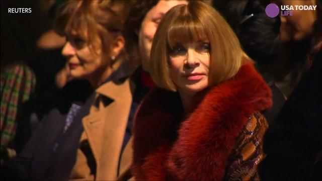 Anna Wintour's already a fashion icon and now she's a dame as well.