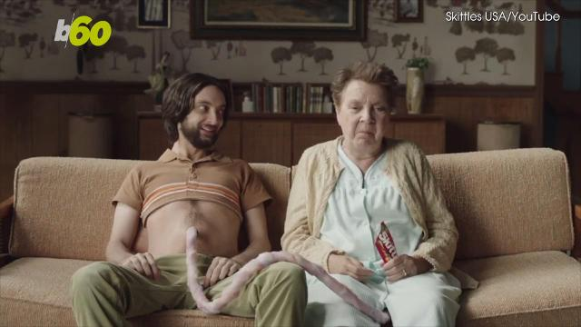 Skittles is going viral with a new ad that takes on a very special kind of mother-son relationship. Buzz60's Angeli Kakade has more.