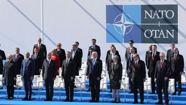 President Donald Trump is expected to make a key endorsement at a NATO summit Thursday. Video provided by Newsy