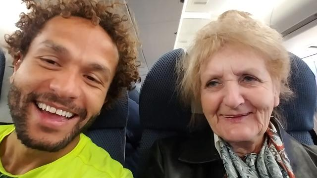 Mom loses job at 75, son takes her on bucket list trip