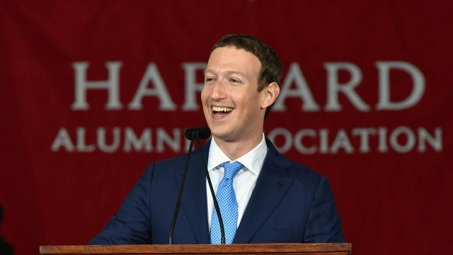 "At Harvard 2017 commencement speech, Mark Zuckerberg said he wants to ""explore ideas like universal basic income."""