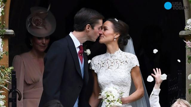 Here's a glimpse of Pippa Middleton's wedding