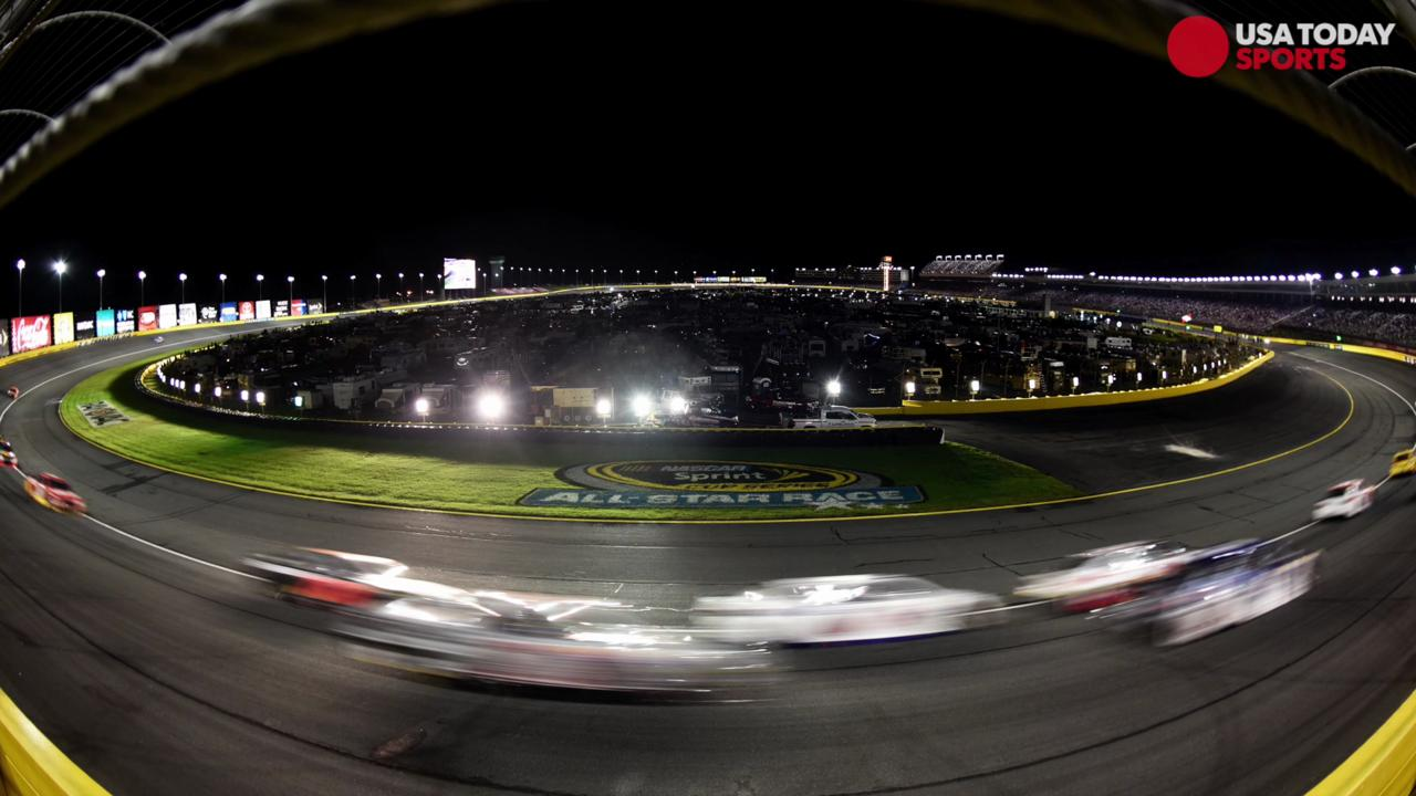 No points at stake as 20 drivers compete for $1 million at Charlotte Motor Speedway.