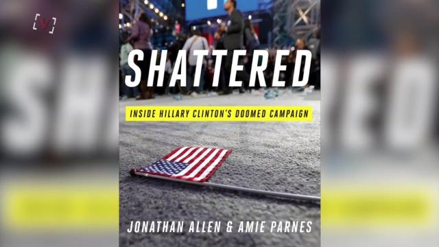 'Shattered,' a new book on Hillary Clinton's devastating loss to Donald Trump has been optioned for a potential TV series by TriStar. Jose Sepulveda(@josesepulvedatv) has more.