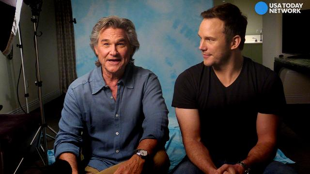 "Upon the 40th anniversary of 'Star Wars,' Kurt Russell and Chris Pratt recall the original ""galaxy far, far away."""