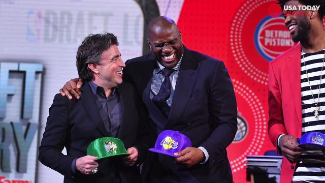 Celtics owner Wyc Grousbeck describes his emotions after winning the NBA draft lottery.