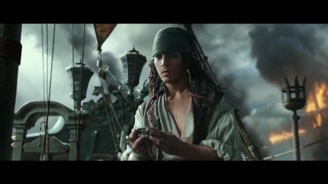 Johnny Depp returns for a fifth time as Captain Jack Sparrow in 'Pirates of the Caribbean: Dead Men Tell No Tales.'
