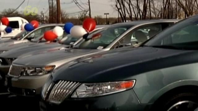 People aren't buying cars these days and it's got folks on Wall Street worried as major carmakers posted drops in new car sales for April. Sean Dowling (@seandowlingtv) has more.