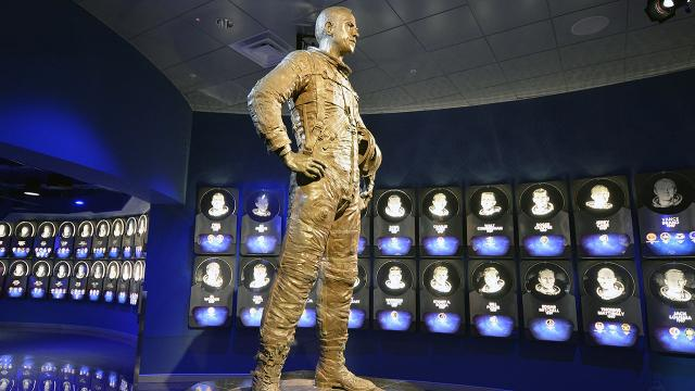What's better than going to space? Being in the Astronaut Hall of fame