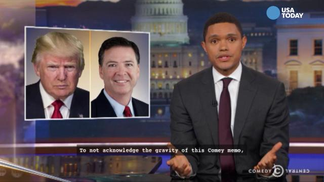 Late-night comics on Fox News' coverage of President Trump and the Russian investigation. Take a look at our favorite jokes, then vote for yours at opinion.usatoday.com.
