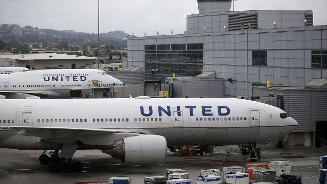 United Airlines might have to redo cockpit security after information on how to access the locked area of the plane was compromised.