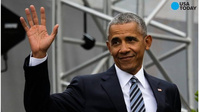 Did Obama just throw shade at President Trump?