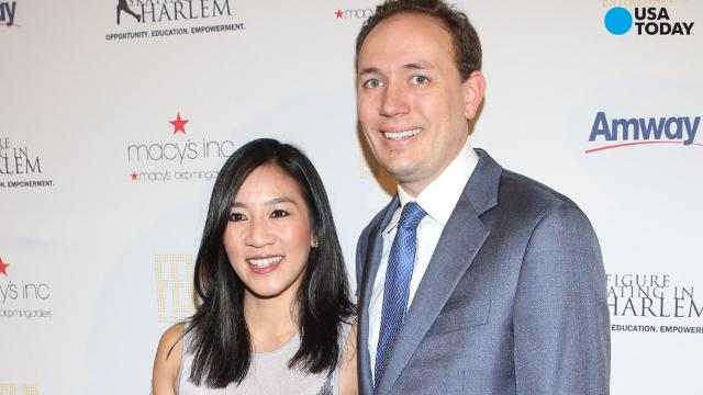 Michelle Kwan and her husband, Clay Pell, have both filed for divorce. The Providence Journal reports both listed irreconcilable differences in their divorce papers.