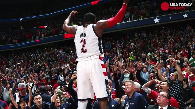John Wall's late three-pointer was the winner for Washington on Friday. The Wizards forced their first Game 7 since 1979 with the 92-91 win.