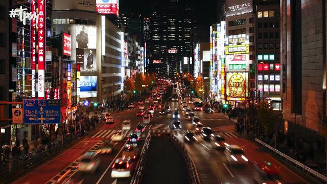 Tokyo's intersection outside Shibuya Station claims to be the world's busiest intersection. It's organized chaos.