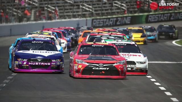 NASCAR will have a broadcast team composed entirely of Monster Energy Cup drivers for its June 10 Xfinity race at Pocono Raceway.