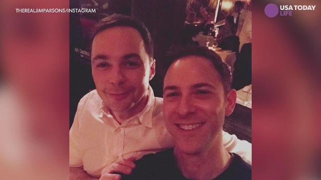 Jim Parsons married longtime partner, Todd Spiewak in at the Rainbow Room in New York Saturday night. The couple have been together for 14 years.