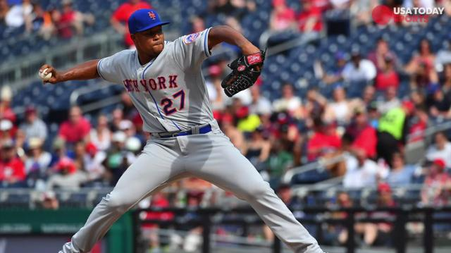 Jeurys Familia was diagnosed with an arterial clot in his right shoulder.