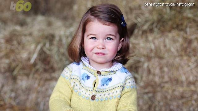 New must-see photo as Princess Charlotte turns 2