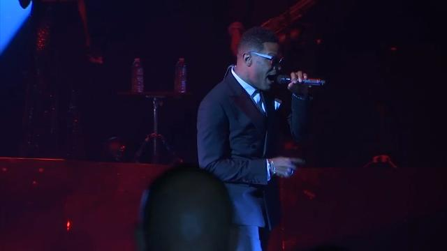 Grammy-winning singer Maxwell kicked off his new tour on his 44th birthday and talked about how Prince's death pushed him to not wait so long to put out new music. (May 26)