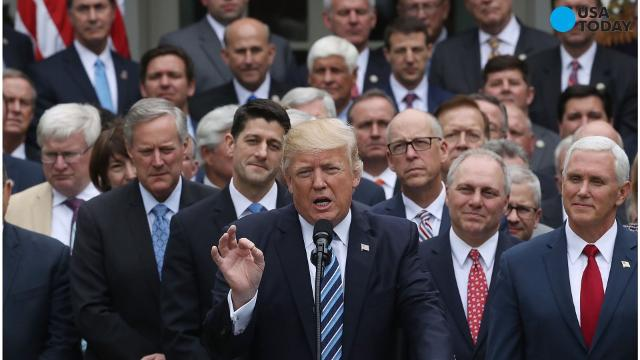 The Republican healthcare plan to repeal and replace the Affordable Care Act that passed the House in early May would decrease the deficit but increase the number of uninsured people, according to the Congressional Budget Office.