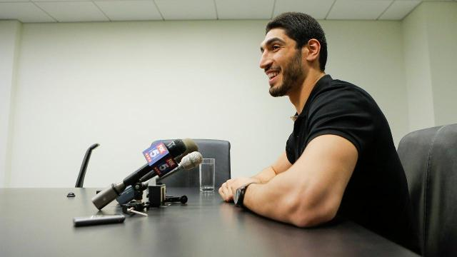 Oklahoma City Thunder center Enes Kanter is wanted in his home country over his alleged association with a political separatist movement.