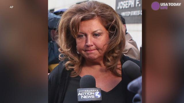 "A former ""Dance Moms"" star will serve the next year and a day in prison."
