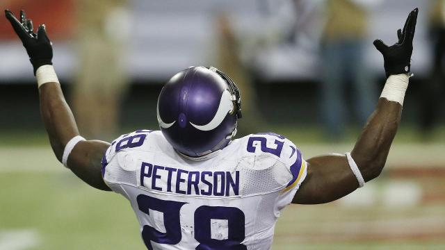 How Adrian Peterson fits in the Saints' scheme