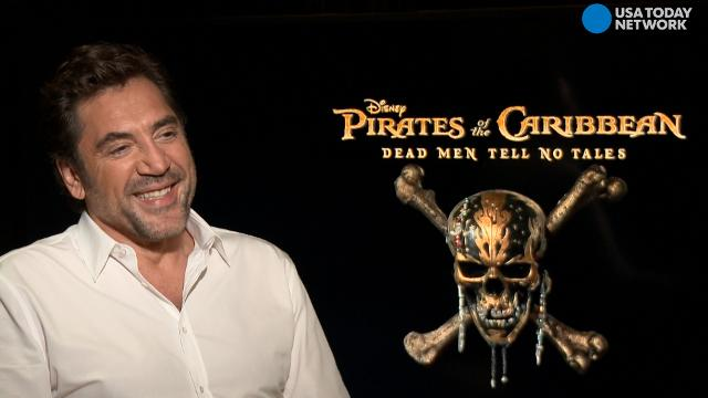 As a child, Javier Bardem didn't want to play Darth Vader or Luke Skywalker. The Oscar winner and star of 'Pirates of the Caribbean: Dead Men Tell No Tales' had a very different 'Star Wars' role in mind.