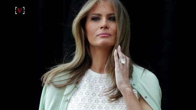 Melania Trumps Nude Pants Made Twitter Think She Went Without Pants