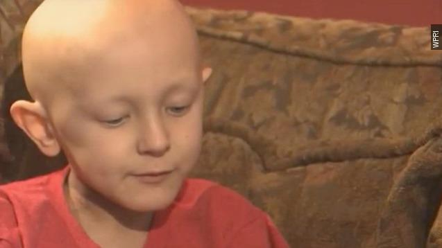 An ailing boy from Rhode Island said it was his dream to become famous in China. Video provided by Newsy
