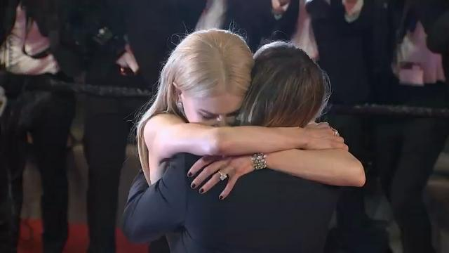 Nicole Kidman gets emotional with husband Keith Urban in Cannes; Jourdan Dunn, Sonam Kapoor, Eva Longoria shimmer in gold. (May 23)