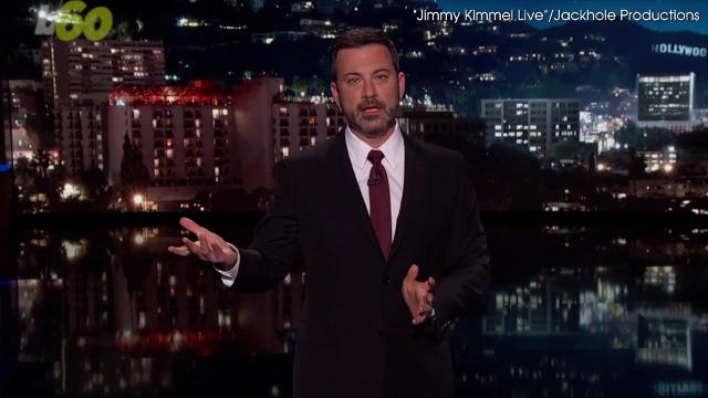 Jimmy Kimmel shared the details of his son's heart disease on his show, and the following evening, Stephen Colbert encouraged his viewers to watch Kimmel's monologue. Keri Lumm (@thekerilumm) reports.