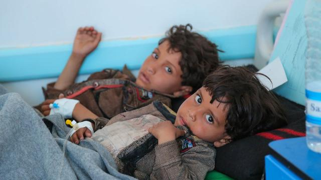 UNICEF and the World Health Organization say Yemen is currently facing the world's worst cholera outbreak, with over 200,000 suspected cases. Video provided by Newsy