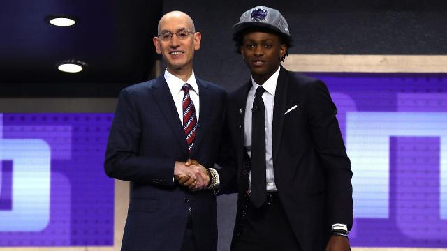 Garrett Temple talks about his newest teammate,  De'Aaron Fox who went to the Sacramento Kings with the No. 5 overall pick in the 2017 NBA draft.