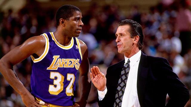 216aa207c Pat Riley claims Magic Johnson is  greatest player of all time