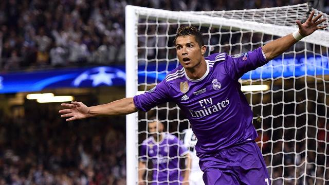 Led by Cristiano Ronaldo, Real Madrid defeated Juventus to become the first team to win consecutive UEFA Champions League titles.