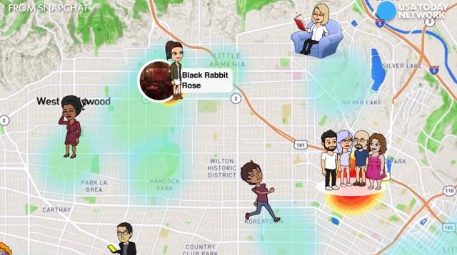 Snapchat's latest feature Snap Map helps you see where your friends are hanging out, so you can join them.