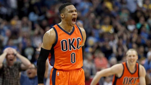 Russell Westbrook took home the most prestigious award on Monday night, the NBA's Most Valuable Player Award.