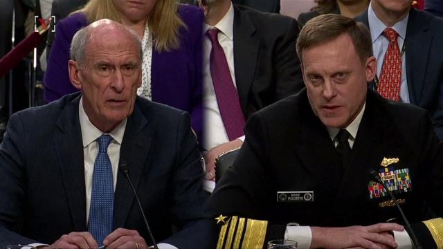Two of America's top intelligence officials were apparently told by President Trump to refute that there was any collusion with Russia.